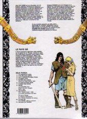 Verso de Thorgal -10a1986- La pays Qâ