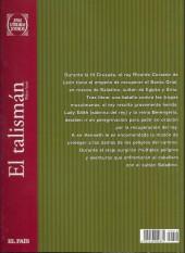 Verso de Joyas Literarias Juveniles -10- El talismán