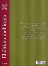 Verso de Joyas Literarias Juveniles -8- El último mohicano