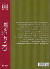 Verso de Joyas Literarias Juveniles -7- Oliver Twist