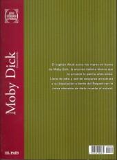 Verso de Joyas Literarias Juveniles -6- Moby Dick