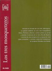 Verso de Joyas Literarias Juveniles -4- Los tres mosqueteros