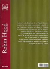 Verso de Joyas Literarias Juveniles -3- Robin Hood