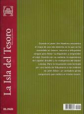 Verso de Joyas Literarias Juveniles -1- La Isla del Tesoro