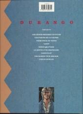 Verso de Durango -1c91- Les chiens meurent en hiver