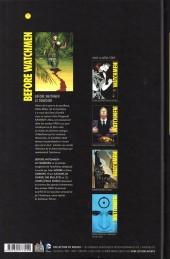 Verso de Before Watchmen -INT07- Le Comédien