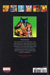 Verso de Marvel Comics - La collection (Hachette) -85- Wolverine