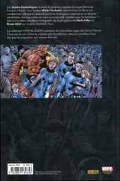 Verso de Fantastic Four (Marvel Icons) - Fantastic Four
