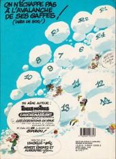 Verso de Gaston -11c1986- Gaffes, bévues et boulettes