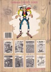 Verso de Lucky Luke -31a86- Tortillas pour les Dalton