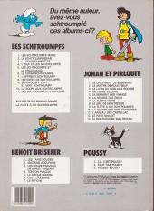 Verso de Les schtroumpfs -1b84- Les schtroumpfs noirs