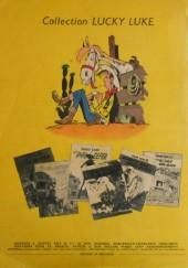 Verso de Lucky Luke -12a58- Les cousins Dalton