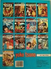 Verso de Yoko Tsuno -9a84- La fille du vent