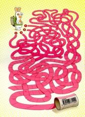 Verso de Lapins crétins (The) -5- La vie en rose