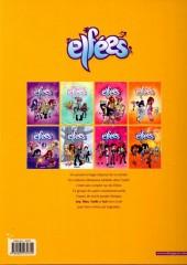 Verso de Les elfées -8- Les elfées 8