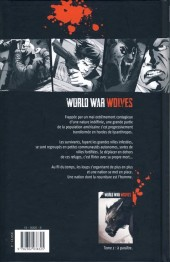Verso de World War Wolves -1- Dieu a de l'humour
