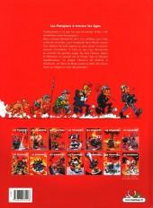 Verso de Les pompiers -HS- Les Pompiers à travers les âges