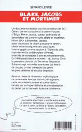 Verso de (AUT) Jacobs, Edgar P. -6a- Blake, Jacobs et Mortimer