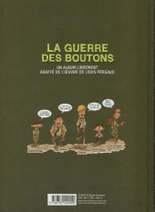Verso de La guerre des Boutons (Vernay/Khaz) -INT1- Le Trésor - La Forteresse