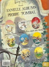 Verso de Pierre Tombal -1b1991- Les 44 premiers trous