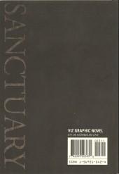 Verso de Sanctuary (1993) Part Three -3- Sanctuary Part Three - #3