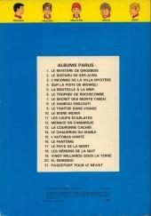 Verso de La patrouille des Castors -1c80- Le mystère de Grosbois
