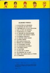 Verso de La patrouille des Castors -5b1978- La bouteille à la mer