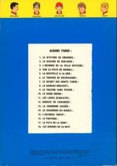 Verso de La patrouille des Castors -6c- Le trophée de rochecombe