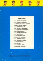 Verso de La patrouille des Castors -11a74- Les loups écarlates