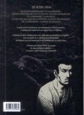 Verso de Gavrilo Princip, l'homme qui changea le siècle