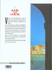 Verso de Louis la Guigne -5b- L'escouade pourpre