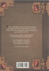 Verso de Chevaliers - Journal d'un héros -3- Livre 3 - La cité ensevelie