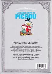 Verso de La grande Épopée de Picsou -4- Tome IV - Trésor sous cloche et autres histoires