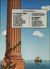 Verso de Alix -9a1978- Le Dieu sauvage
