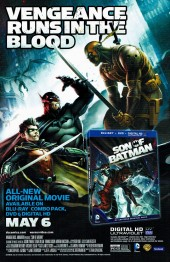 Verso de Batman Eternal (2014)  -7- Issue 7