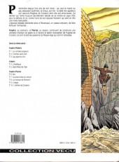 Verso de Les aigles décapitées -7a- La prisionnière du donjon