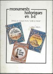 Verso de Monuments historiques en BD -5- La Bastille