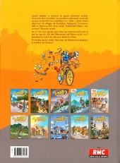 Verso de Les vélo Maniacs -10- Tome 10