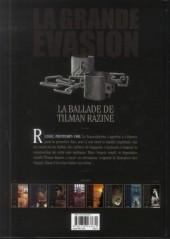 Verso de La grande évasion -8- La ballade de Tilman Razine
