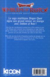 Verso de Dragon Quest - Emblem of Roto -3- Tome 3