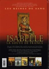 Verso de Les reines de sang - Isabelle, la Louve de France -2- Isabelle La Louve de France - Volume 2/2