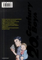 Verso de 20th Century Boys - Deluxe -1- Tome 1
