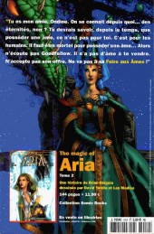 Verso de Magic of Aria (The) -16- Le Charme de l'été