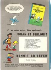 Verso de Johan et Pirlouit -12a1966- Le pays maudit