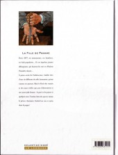 Verso de La fille de Paname -2- L'homme aux tatouages