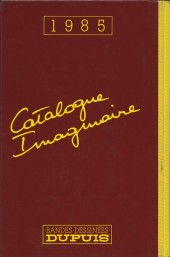 Verso de (AUT) Collectif - Catalogue imaginaire