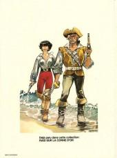 Verso de Barbe-Rouge -18a1980- Raid sur la Corne d'or
