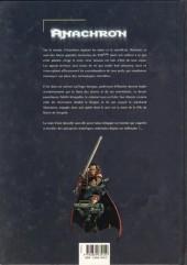 Verso de Anachron -1- Le retour de la bête