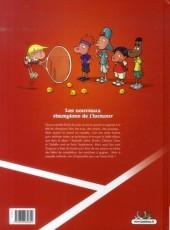 Verso de Tennis Kids -1- Ramasseurs de gags