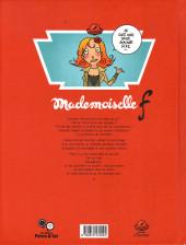 Verso de Mademoiselle F - Tome 2